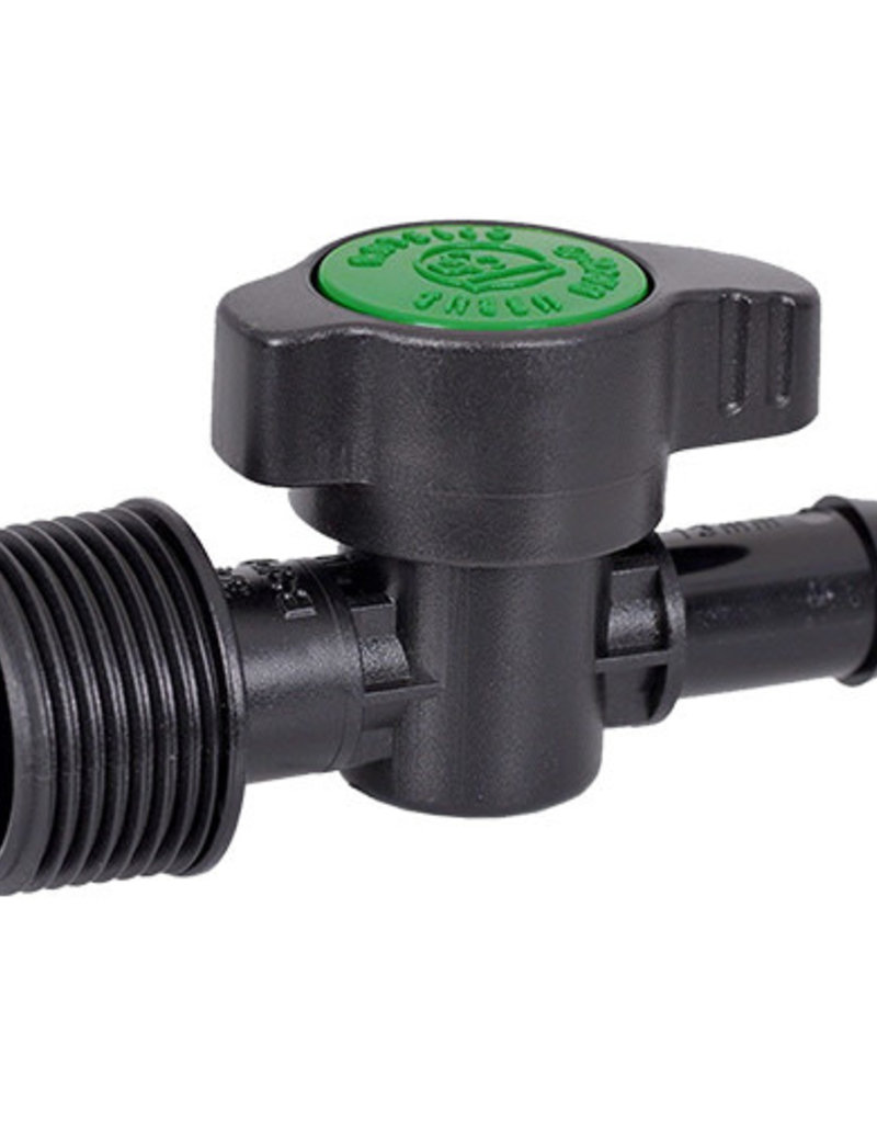 ANTELCO ANTELCO GREEN BACK VALVE 13MM BARB X 3/4inch BSPM