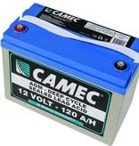 CAMEC CAMEC 120AH SLA AGM BATTERY, FULLY SEALED - 36 MTH WARRANTY