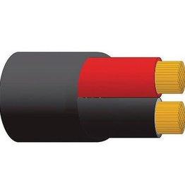 OEX 8 B&S BATTERY TWIN RED/BLACK PER METRE