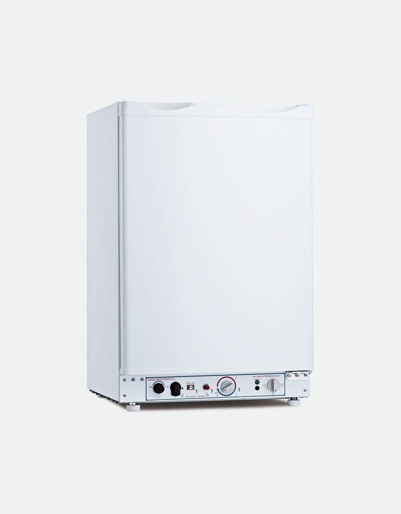 BUSHMAN 100L LPG / 240V / 12V (WHITE) BUSHMAN FRIDGE/FREEZER