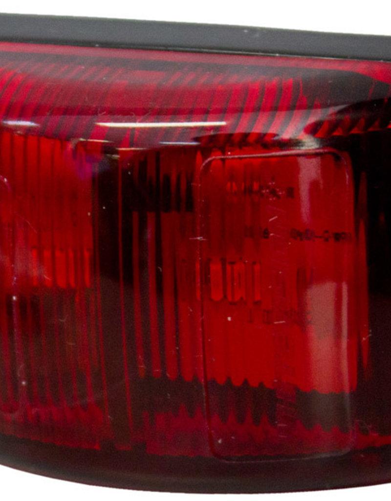WHITE VISION 62 Series Rear Marker 9-33V Red (Red Lens) 0.5M