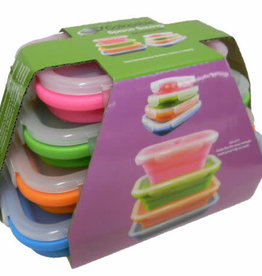 SUPEX COLLAPSIBLE SET OF 4 RECTANGLE CONTAINERS
