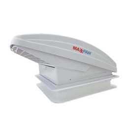 Maxxfan Deluxe with Rain Dome,T/Stat, Power Lift and Remote .356mm x 356mm.00-07000KI