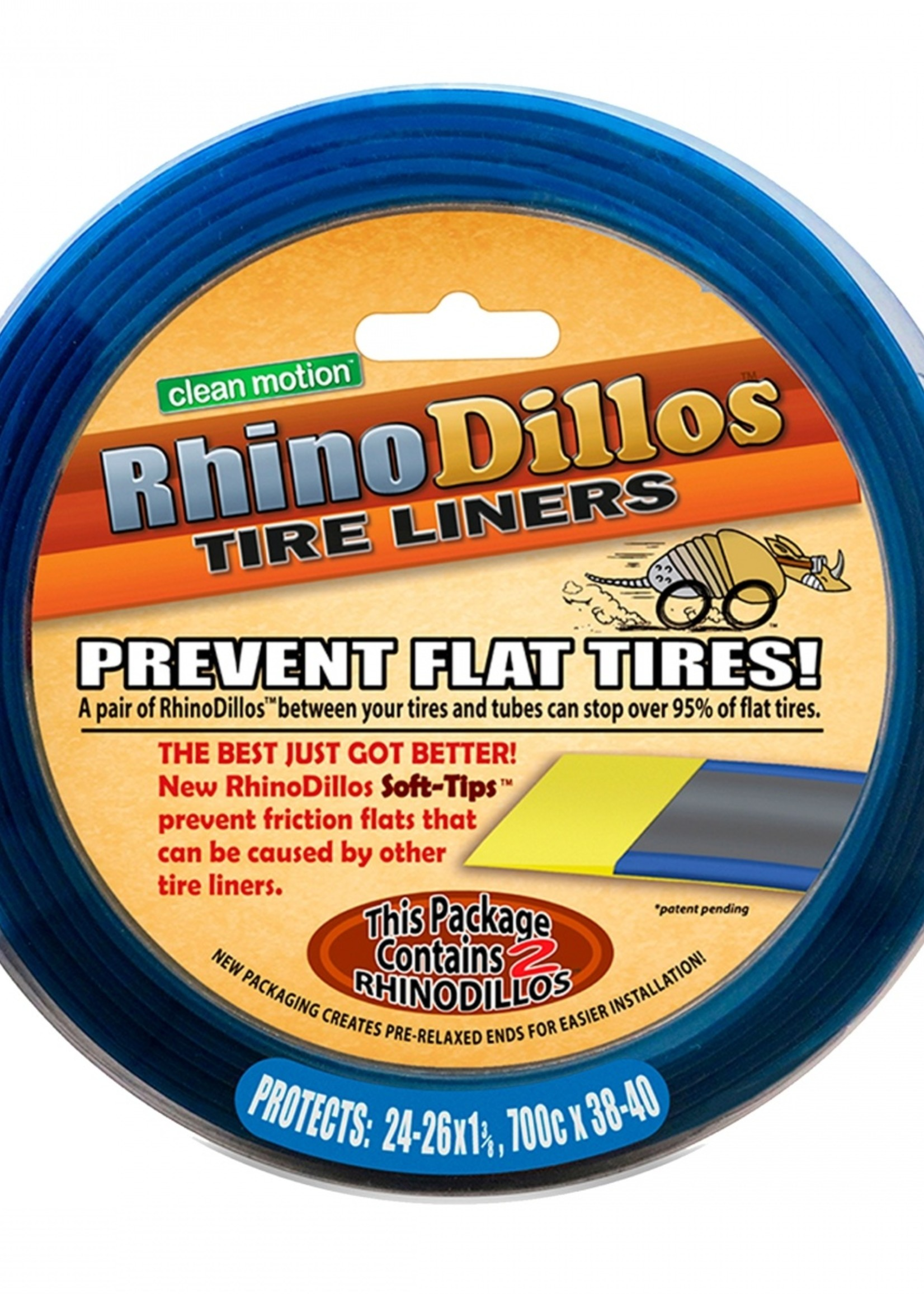 Stopflats Tire Liner Stop Flats2 700 X 32-41 Gold Pair