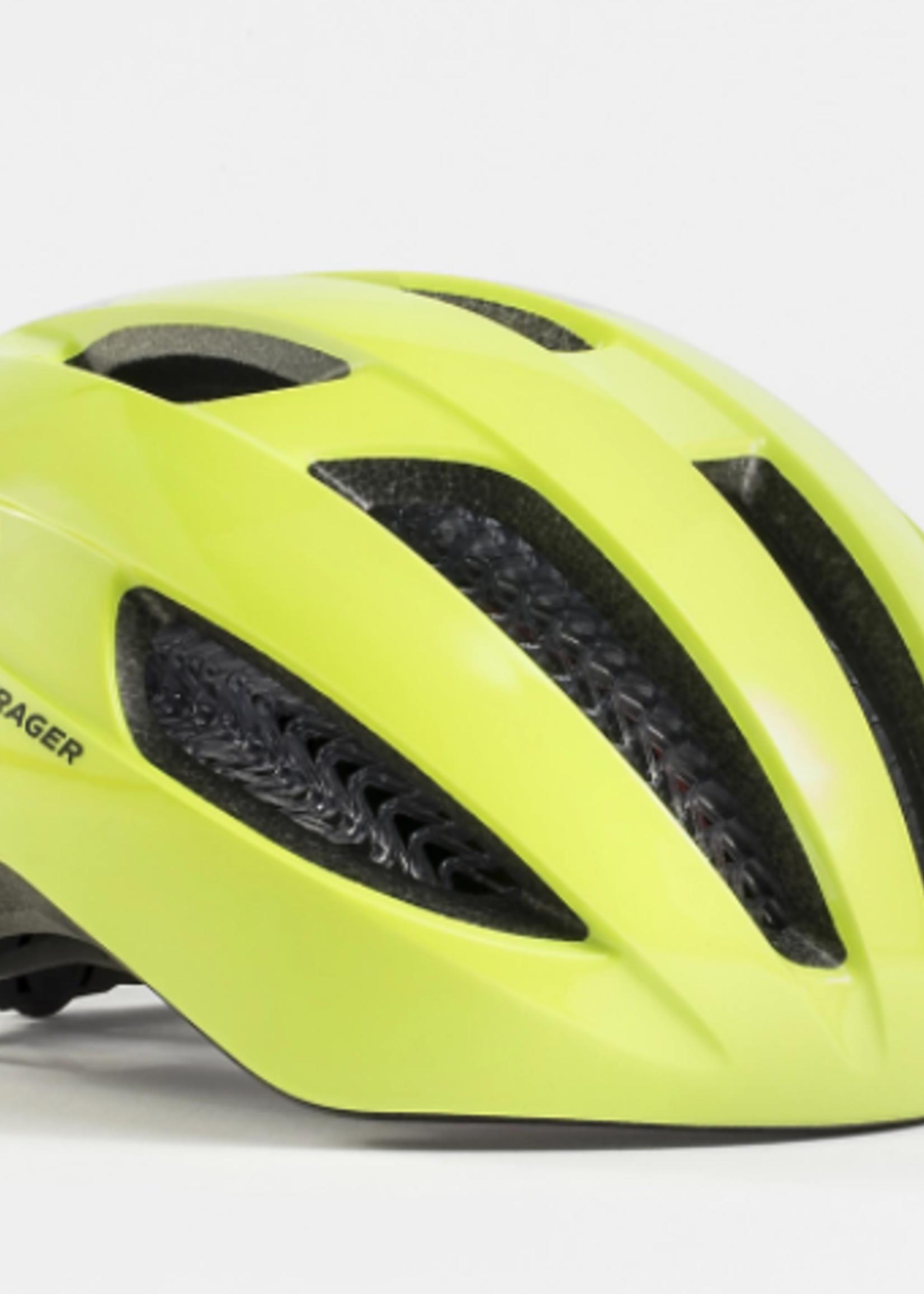 Bontrager Helmet Bontrager Starvos WaveCel Medium Radioactive Yellow CPSC