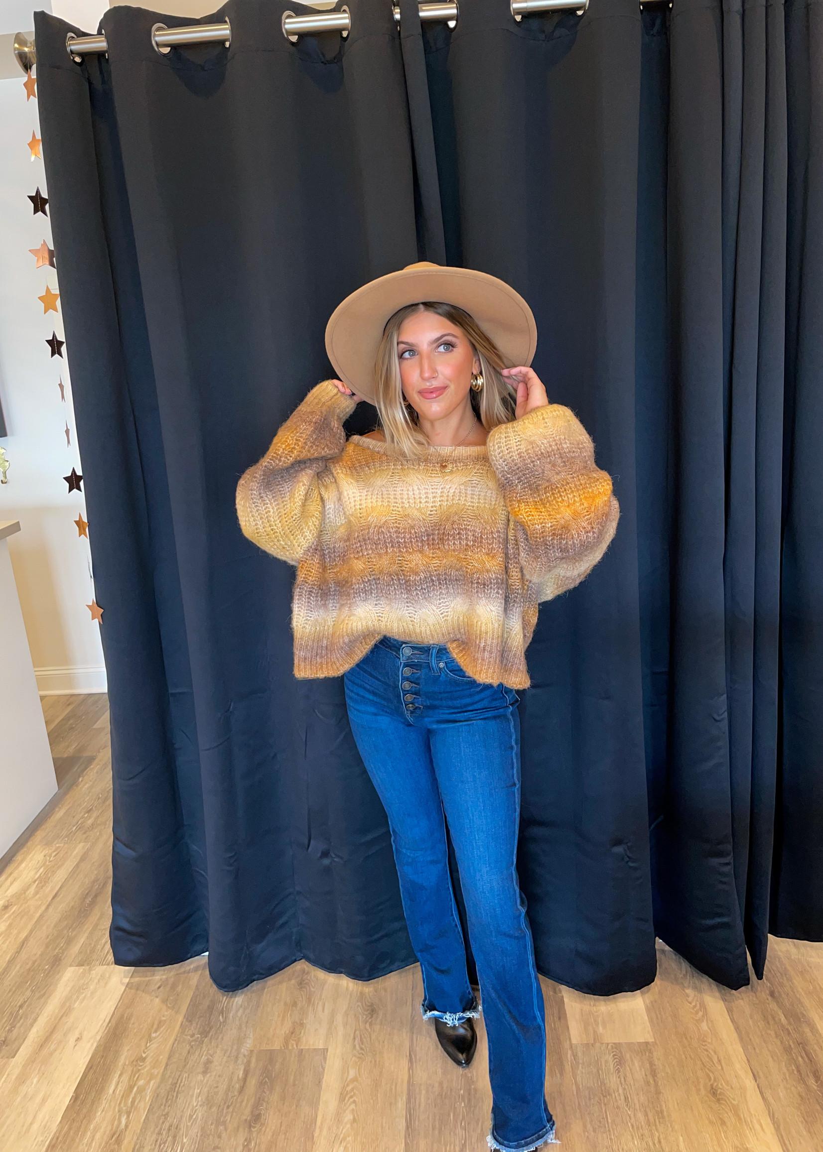 Spice Chestnut Sweater