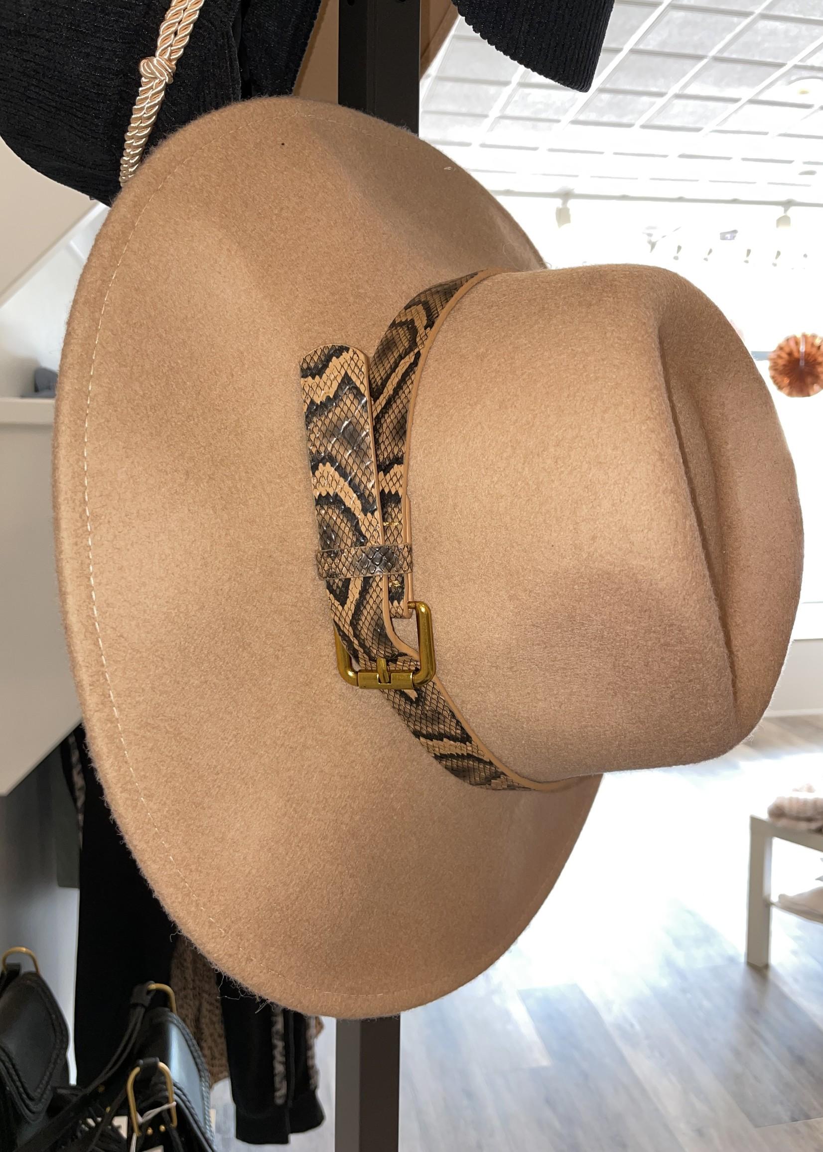 Adjustable Flat Brim Hat