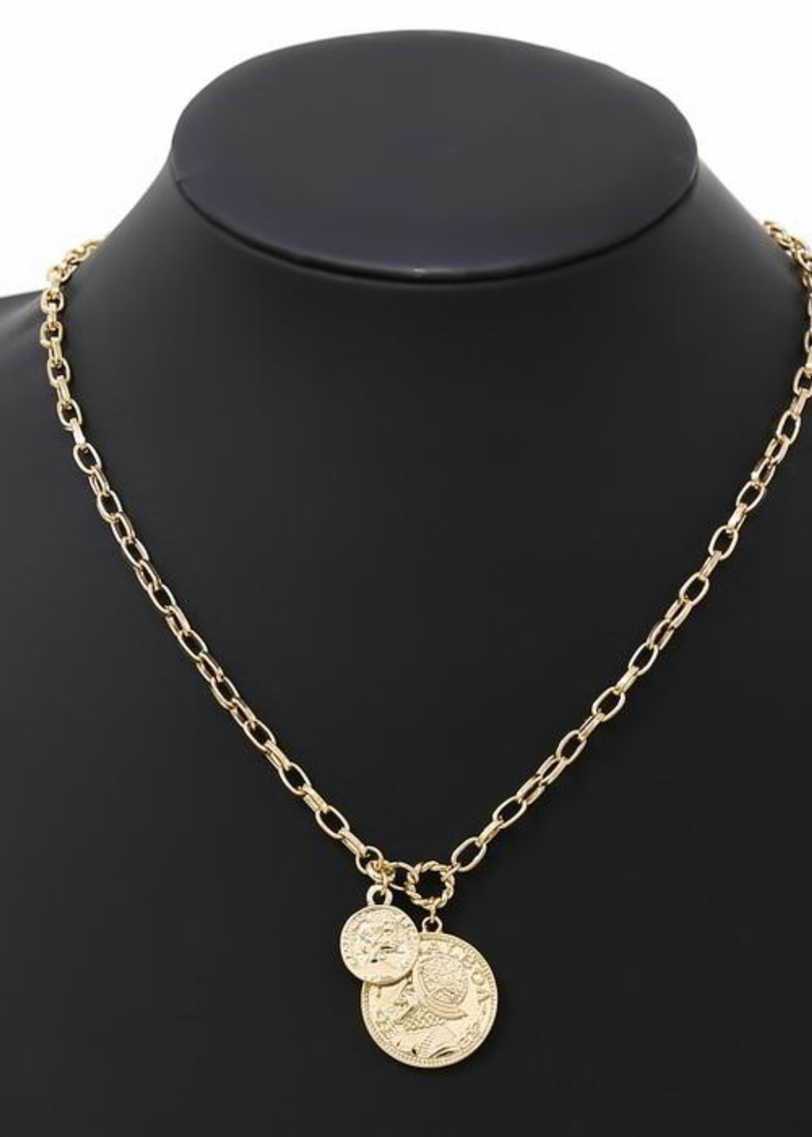 Coin Pendent Necklace