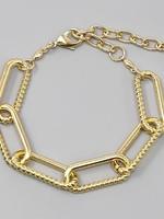 Linked Chain Braclete