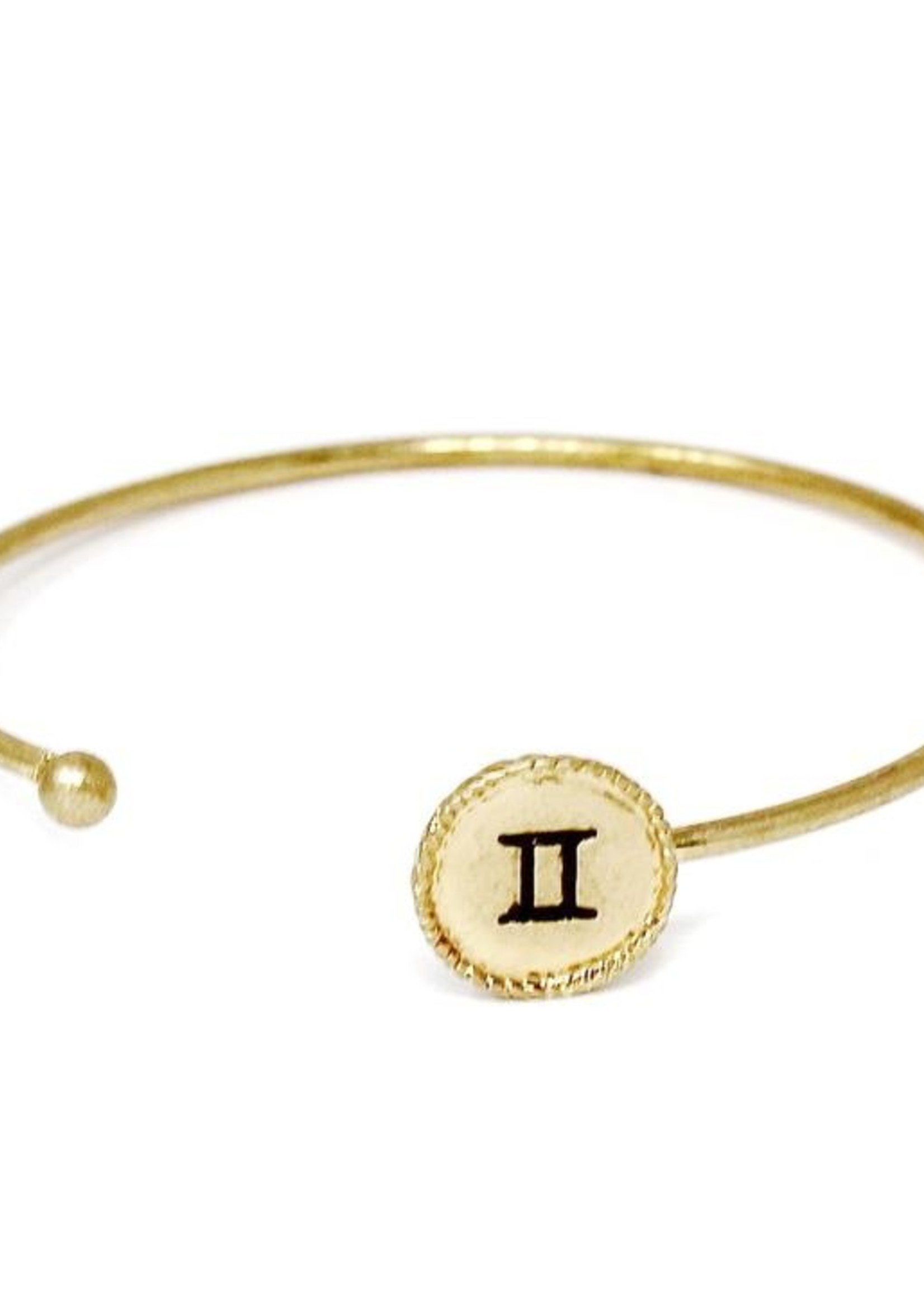 Gold Zodiac Braclete