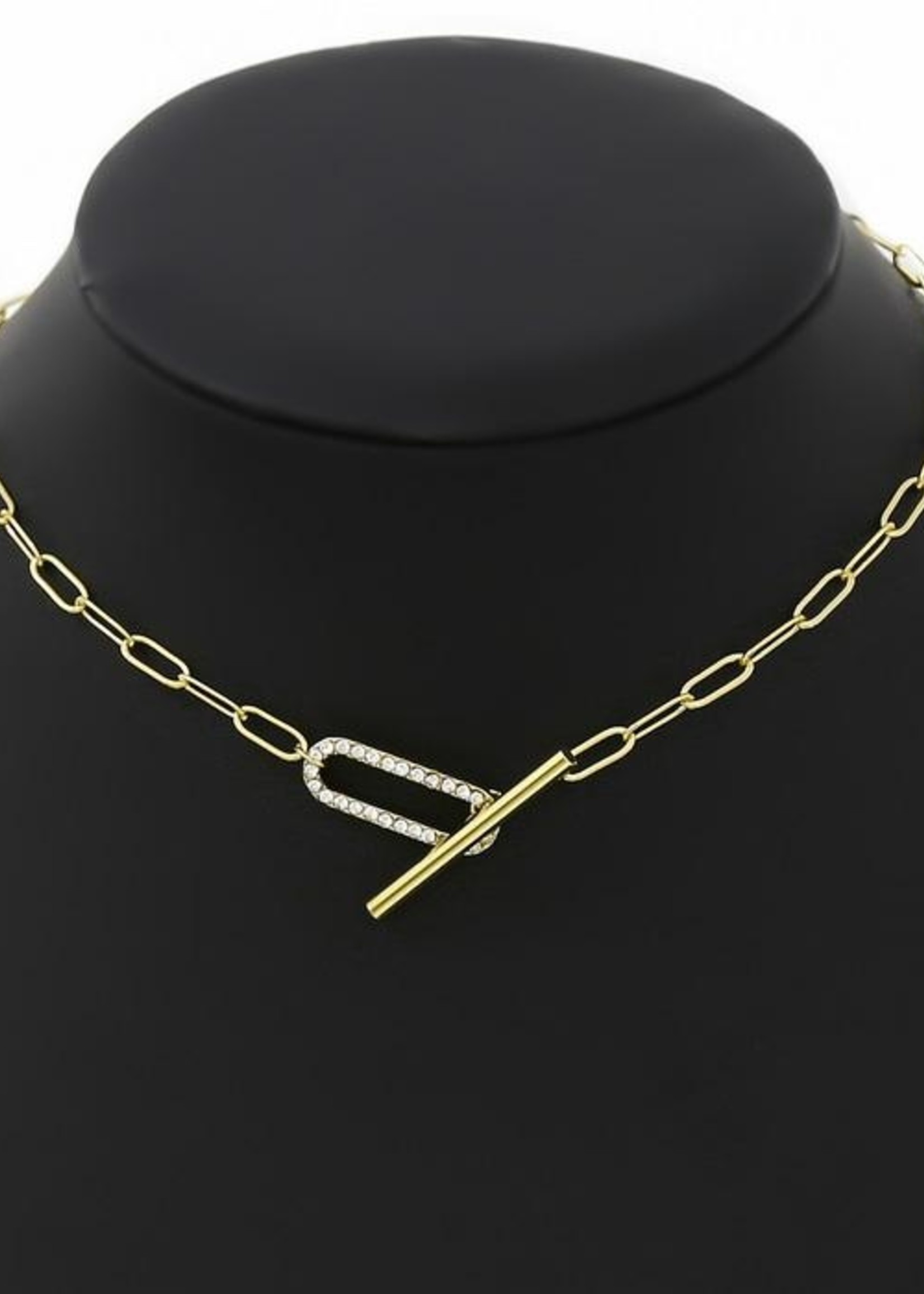 Toggle Linked Chain Choker