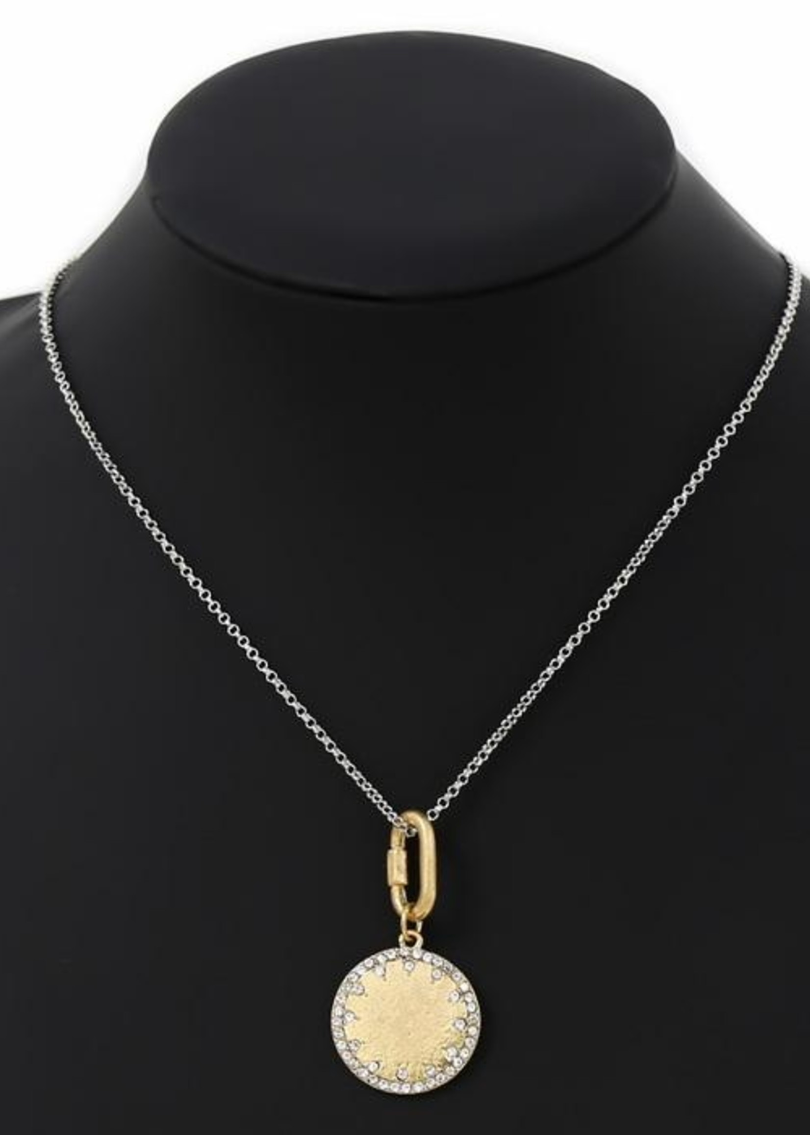Disc Pendent Necklace