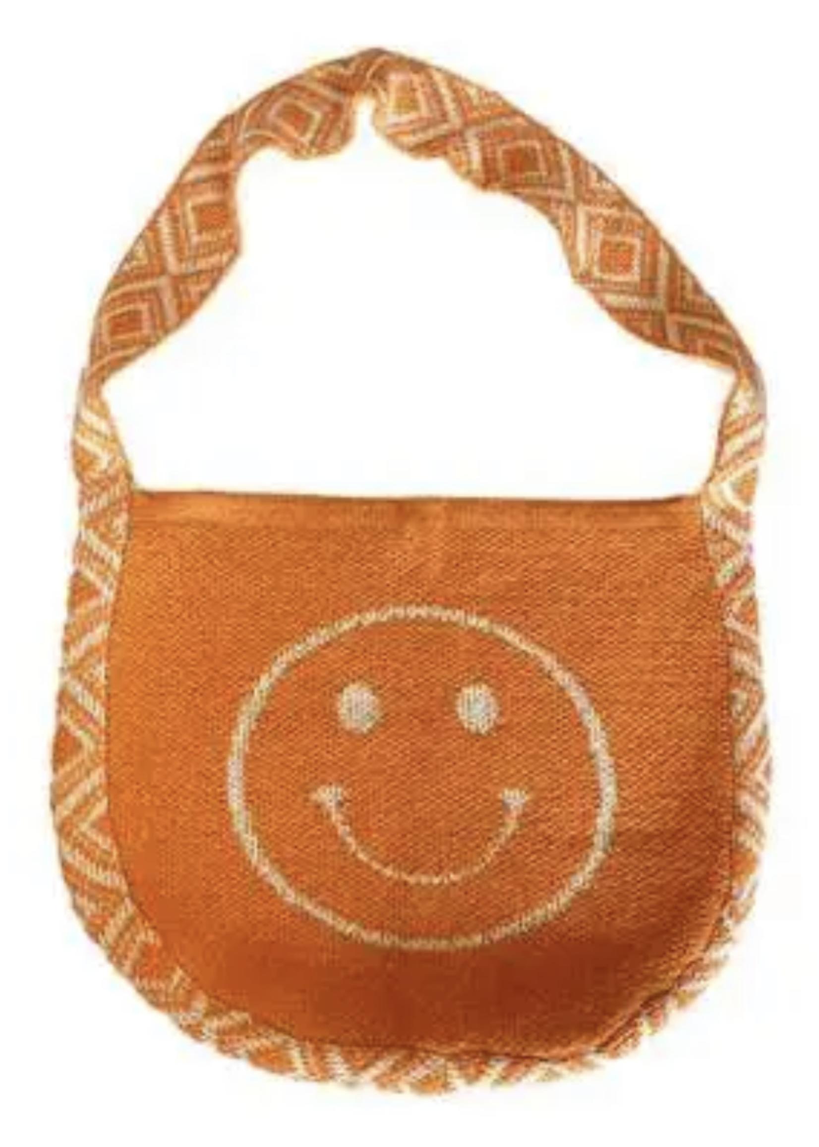 Knit Smiley Face Bag