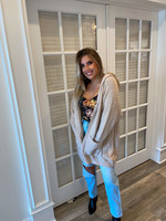 Taupe Front Pocket Cardigan