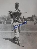 Eddie Matthews - Signed & Framed 11x14 Atlanta Braves Photo, Certified by PSA/DNA