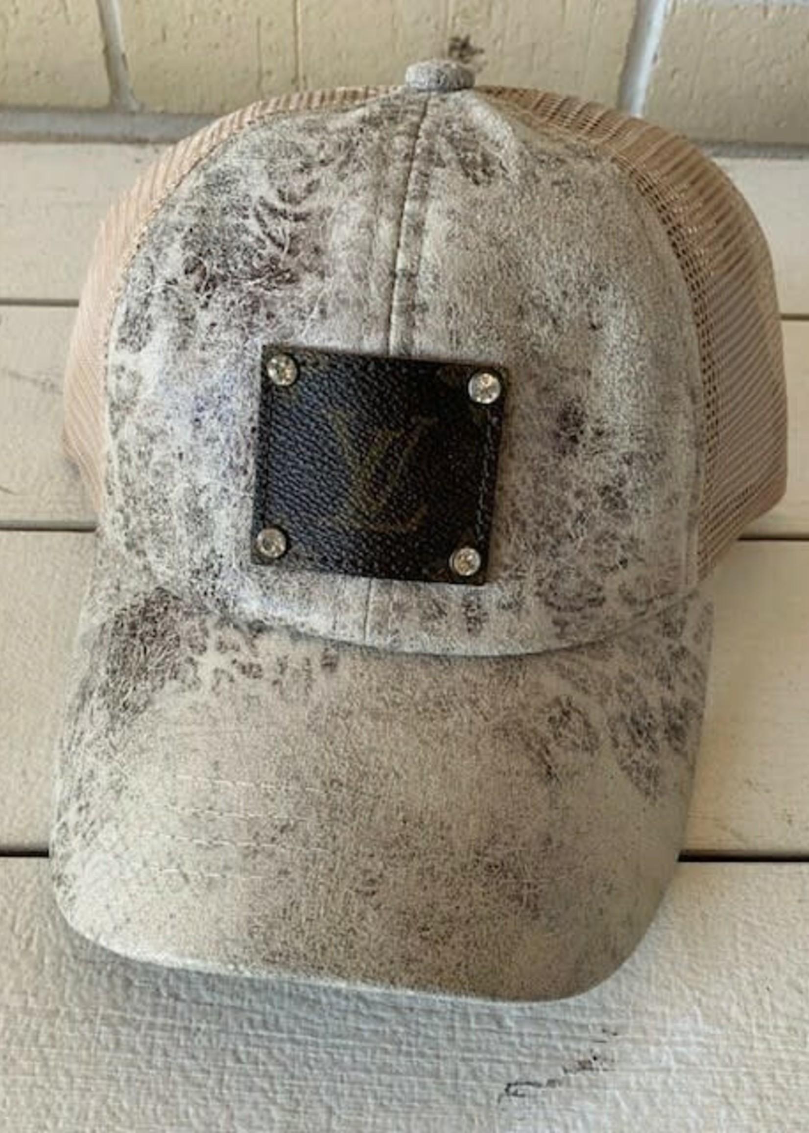 Authentic Upcycled Designer Cap