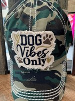 Camo Dog Vibes Only Patch Cap