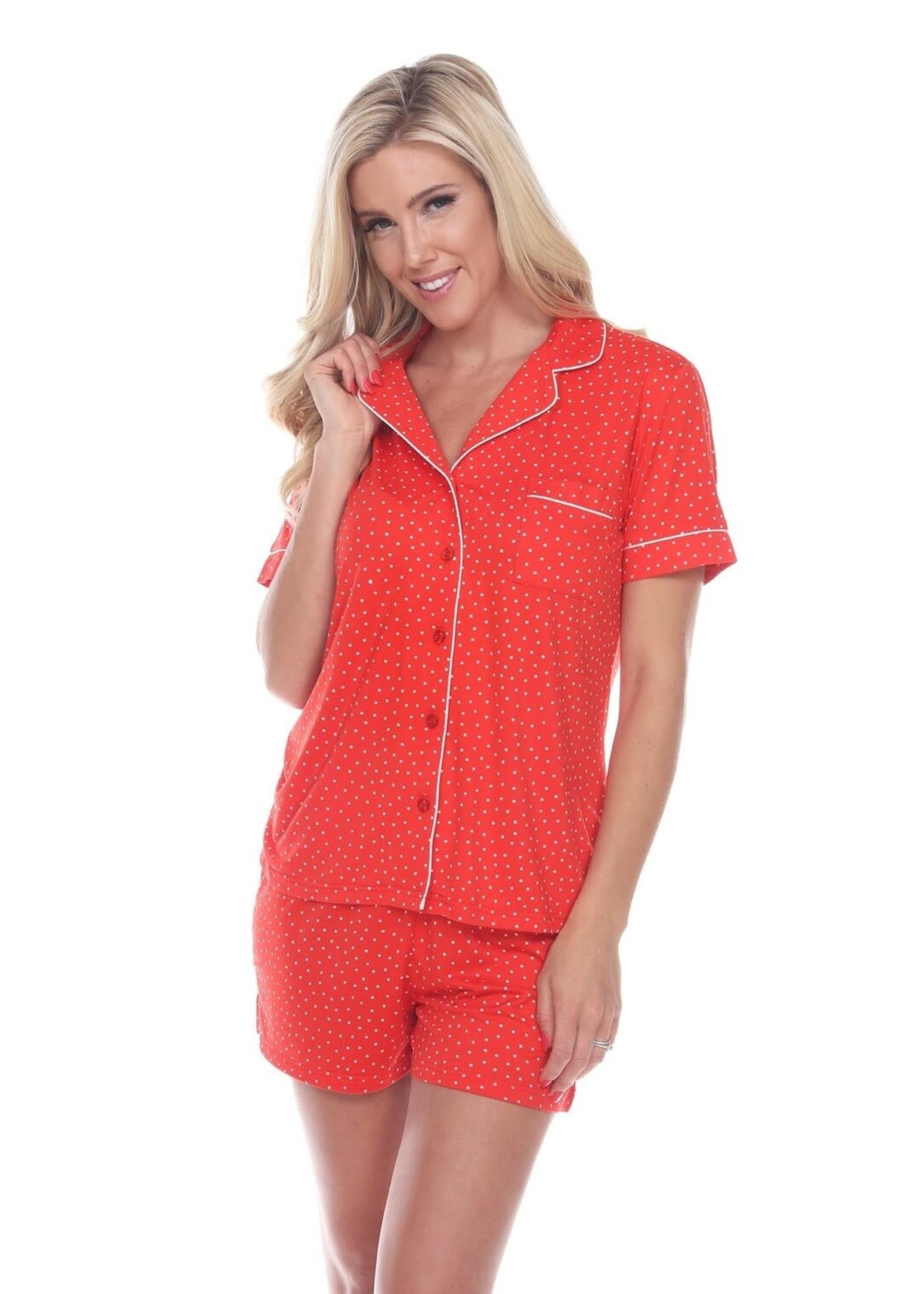 Pajama Set   Short Sleeve