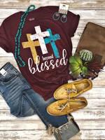 Texas True Threads Beyond Blessed Tee