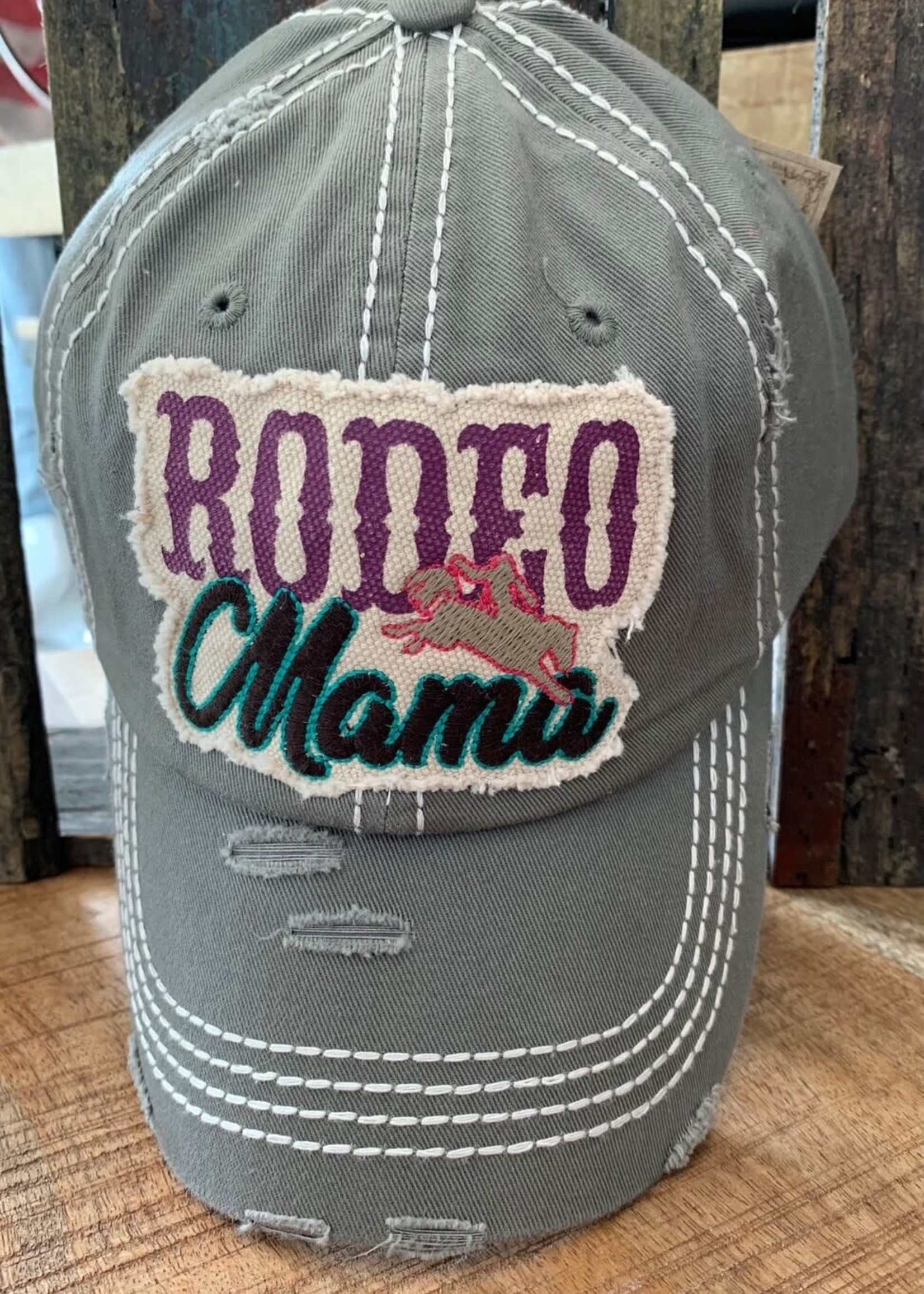 Rodeo Mama Patch Hat