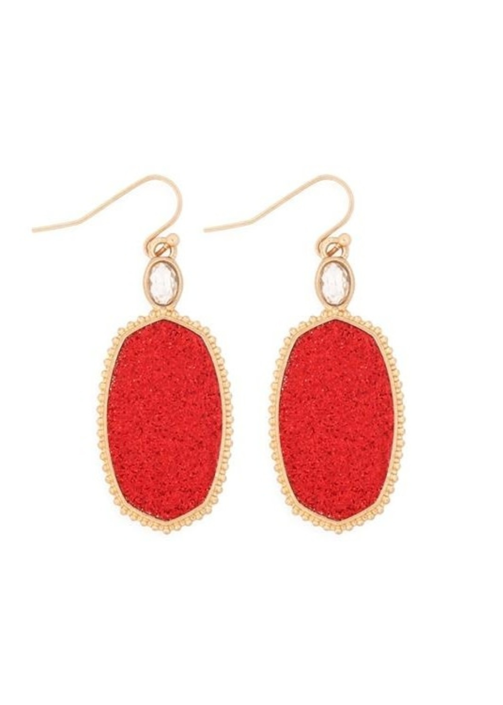 Apparel Candy Faceted Drop Earrings