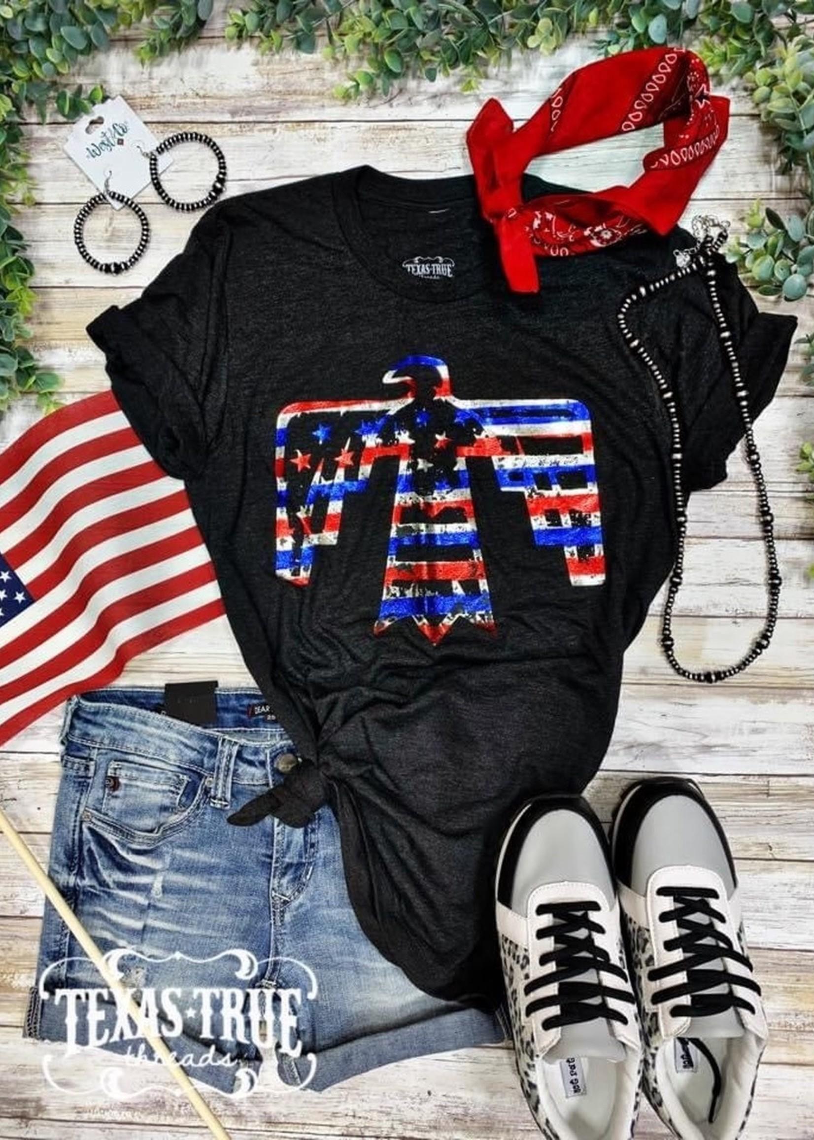Texas True Threads Patriotic Bird