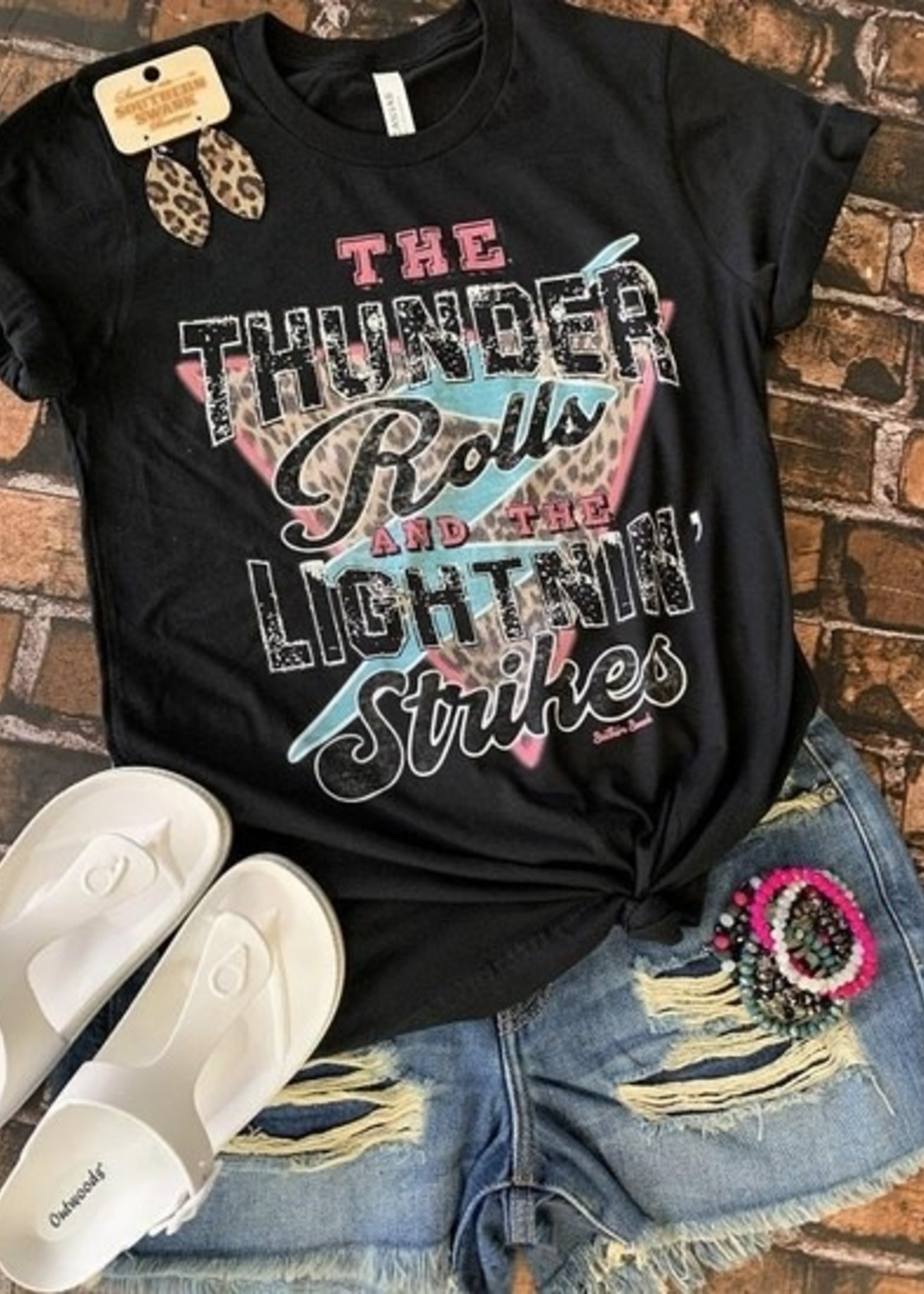 Southern Swank The Thunder Rolls Tee
