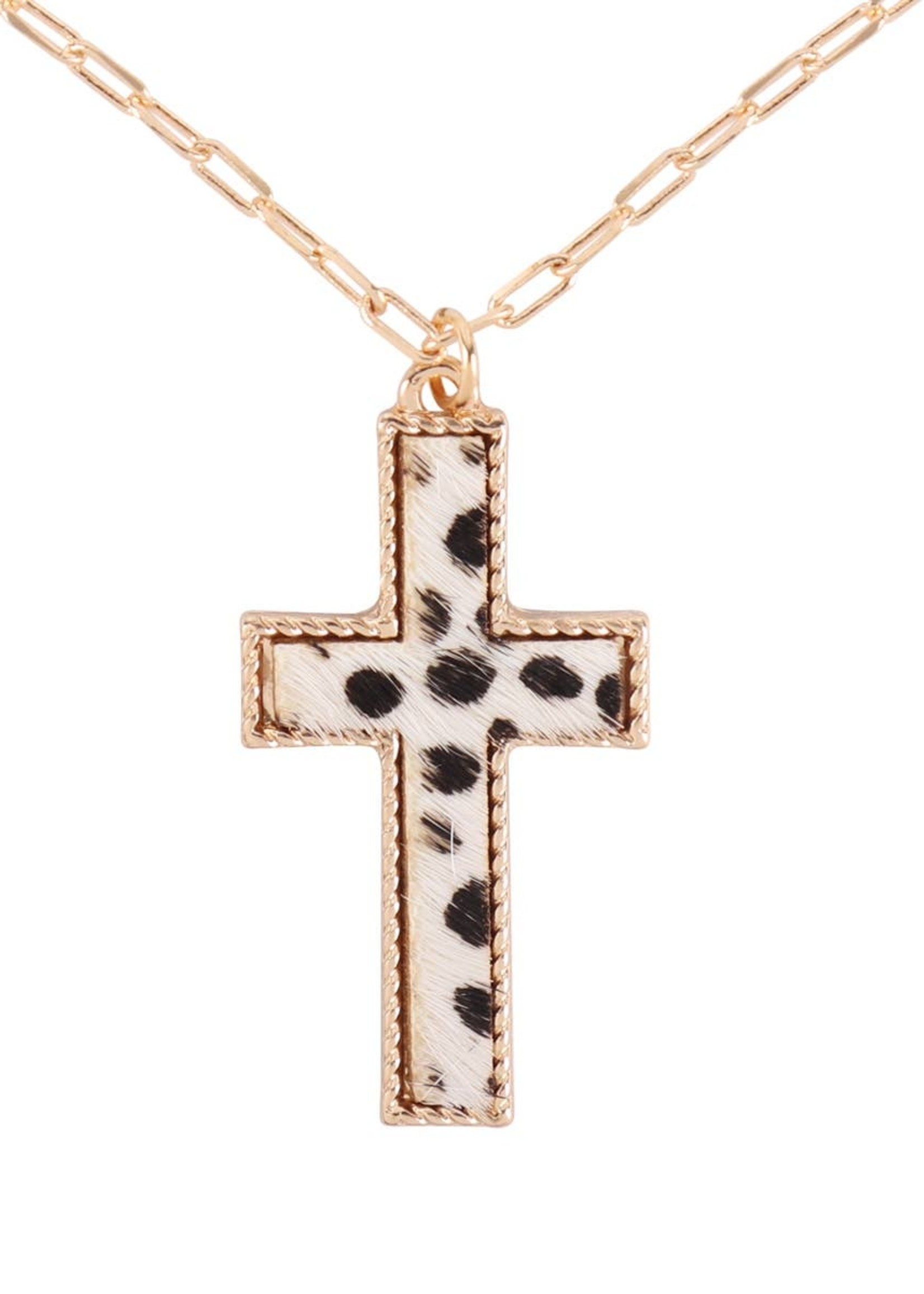 MYS Wholesale Cross Layered Necklace