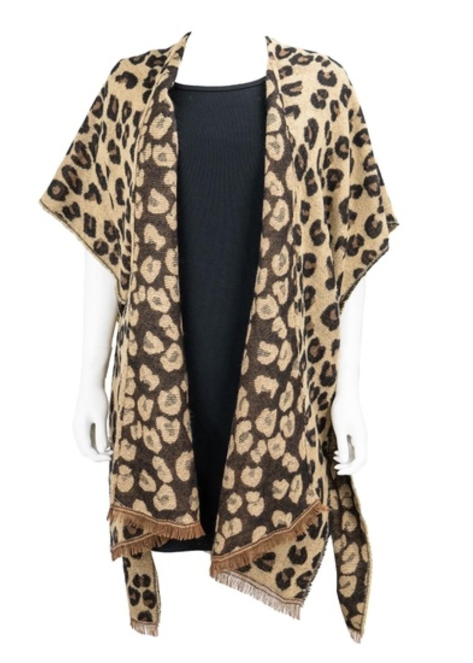 Snow Leopard Wrap