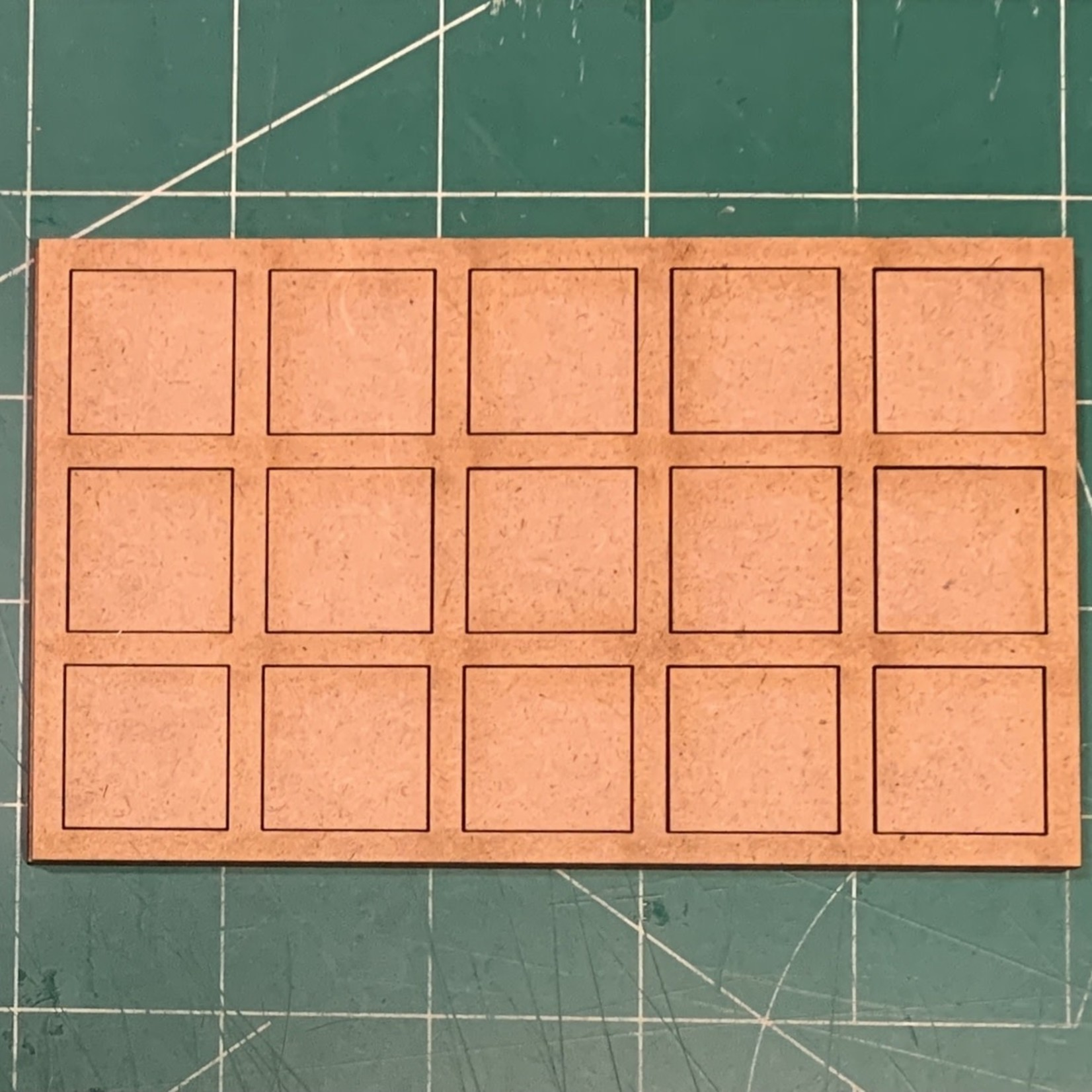 """Pair of 20mm """"Oathmark"""" Triple Rank 15 Figure Tray - Squares"""