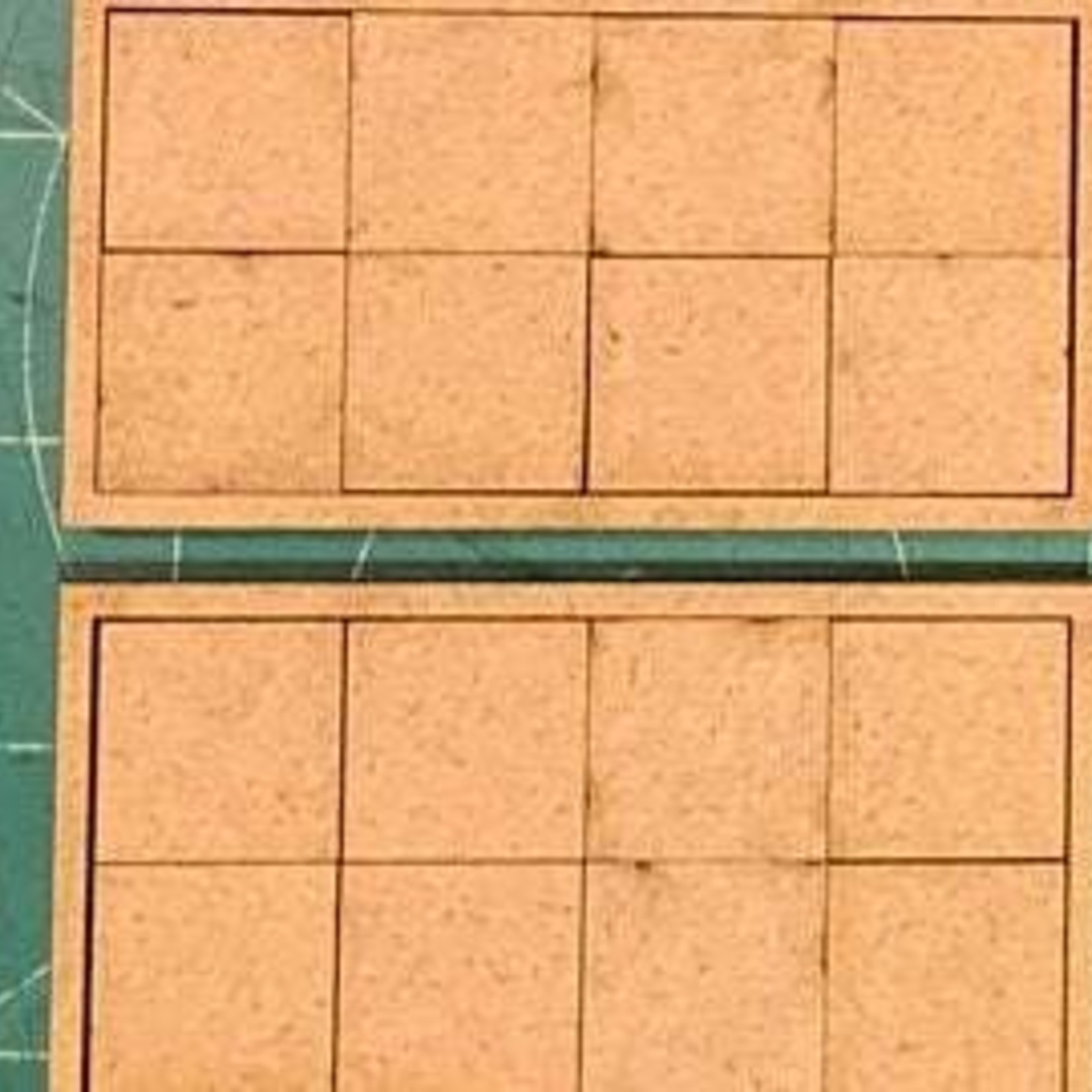 """Pair of 20mm """"Sharp Practice"""" Rank & File Tray 8 Figure - Squares"""
