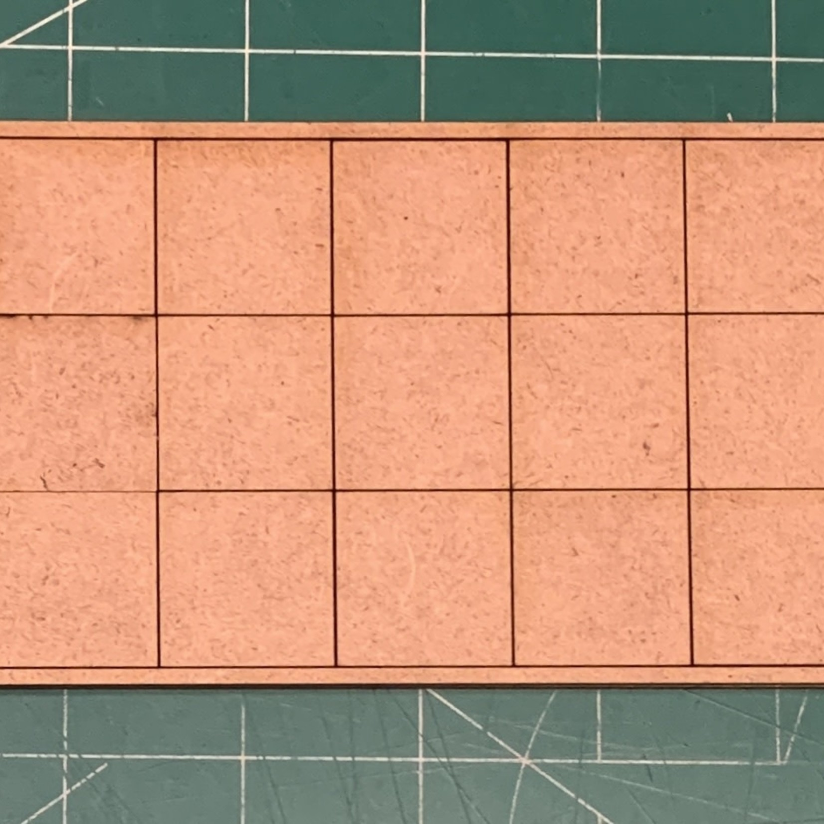 """Pair of 25mm """"Oathmark"""" Triple Rank 15 Figure Tray - Squares"""