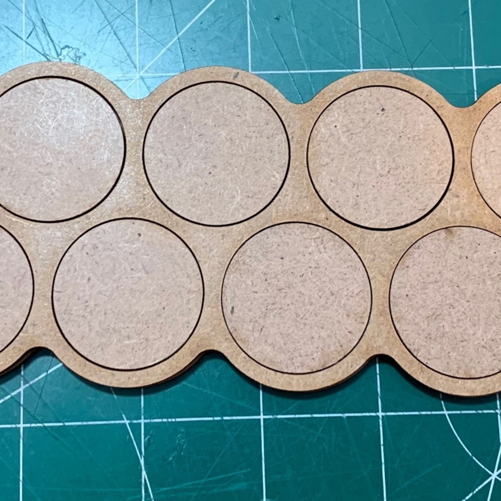 Pair of 32mm Ten(10) Figure Movement Tray - 5/5