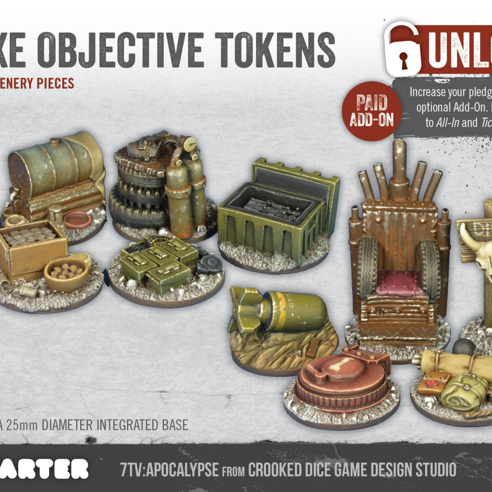 7TV Apocalypse Deluxe Objective Tokens 1