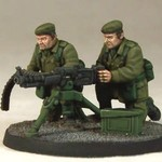 Army Support Team: HMG