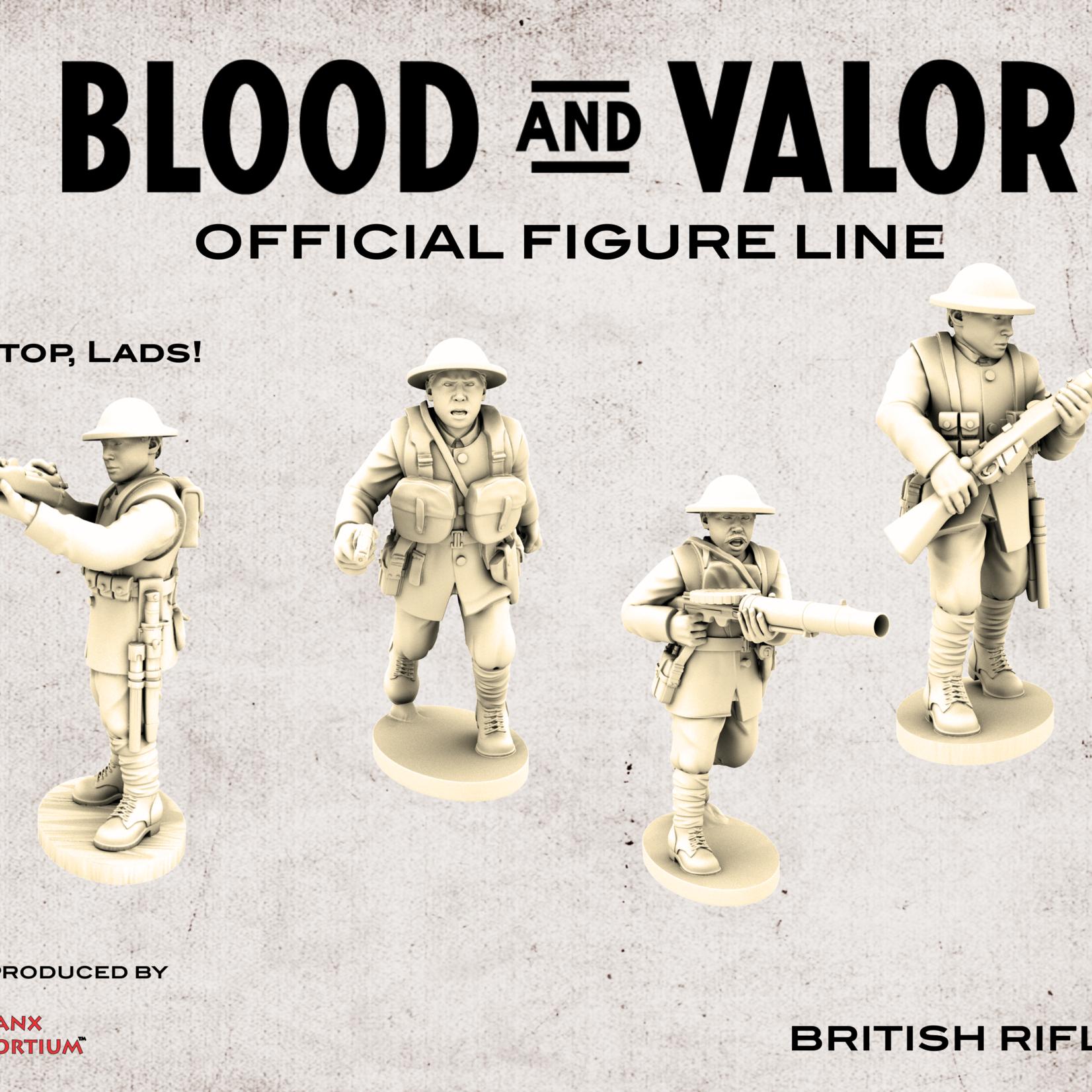 British Riflemen Set B