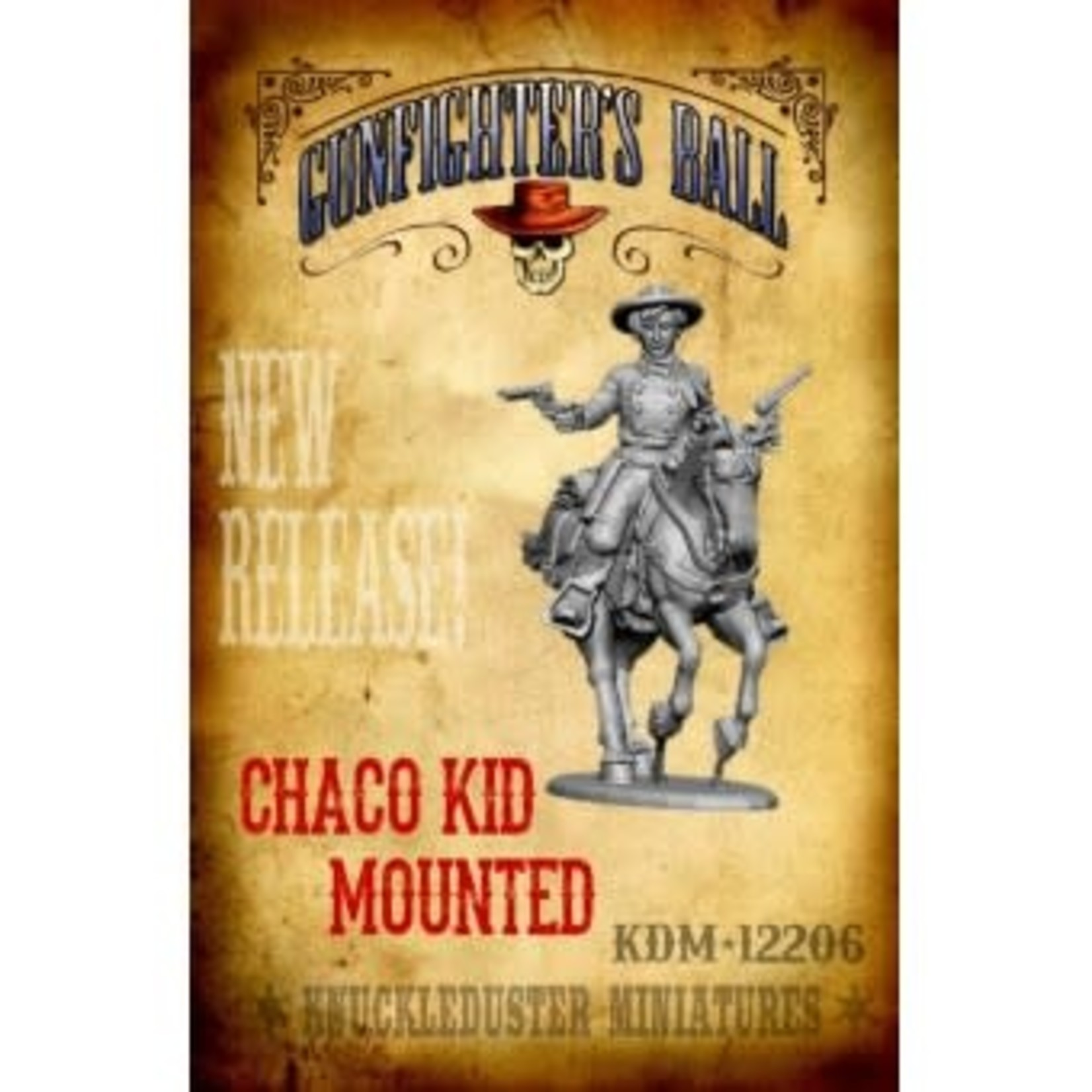 Chaco Kid Mounted