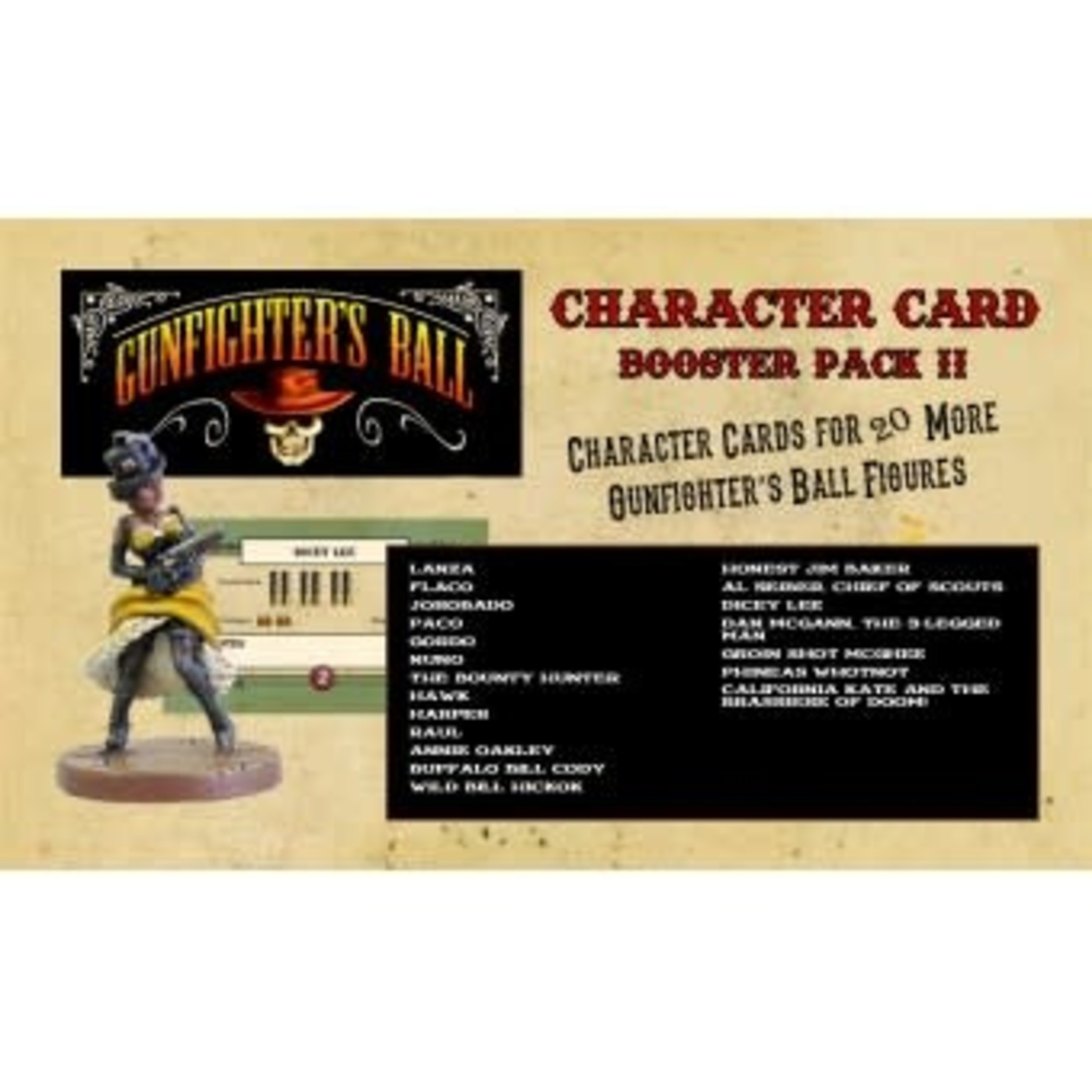 Character Card Booster Pack II