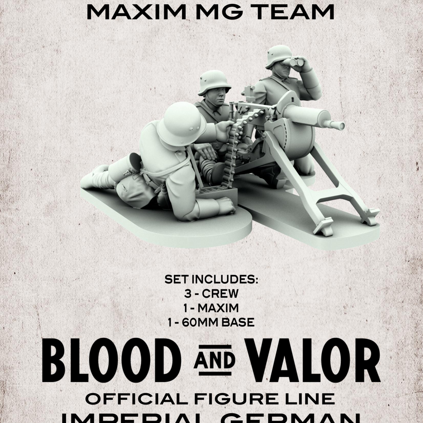 German Maxim MG Team