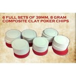 Gunfighter's Ball Clay Composite Wound Chips
