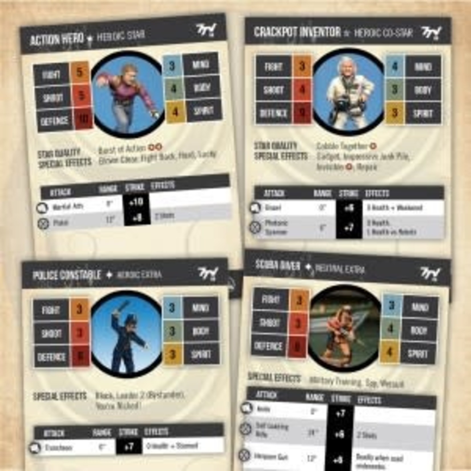 Hero Profile Cards