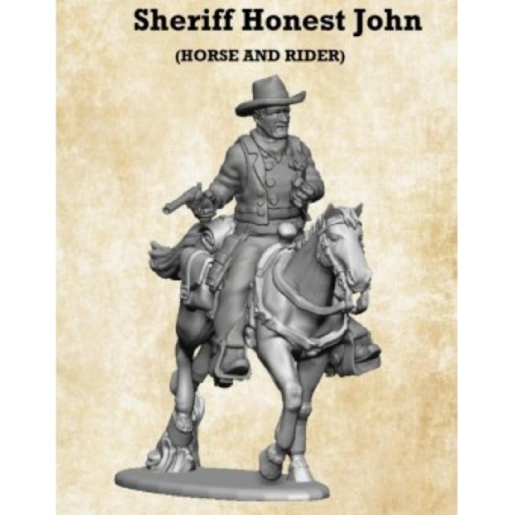 Honest John Mounted