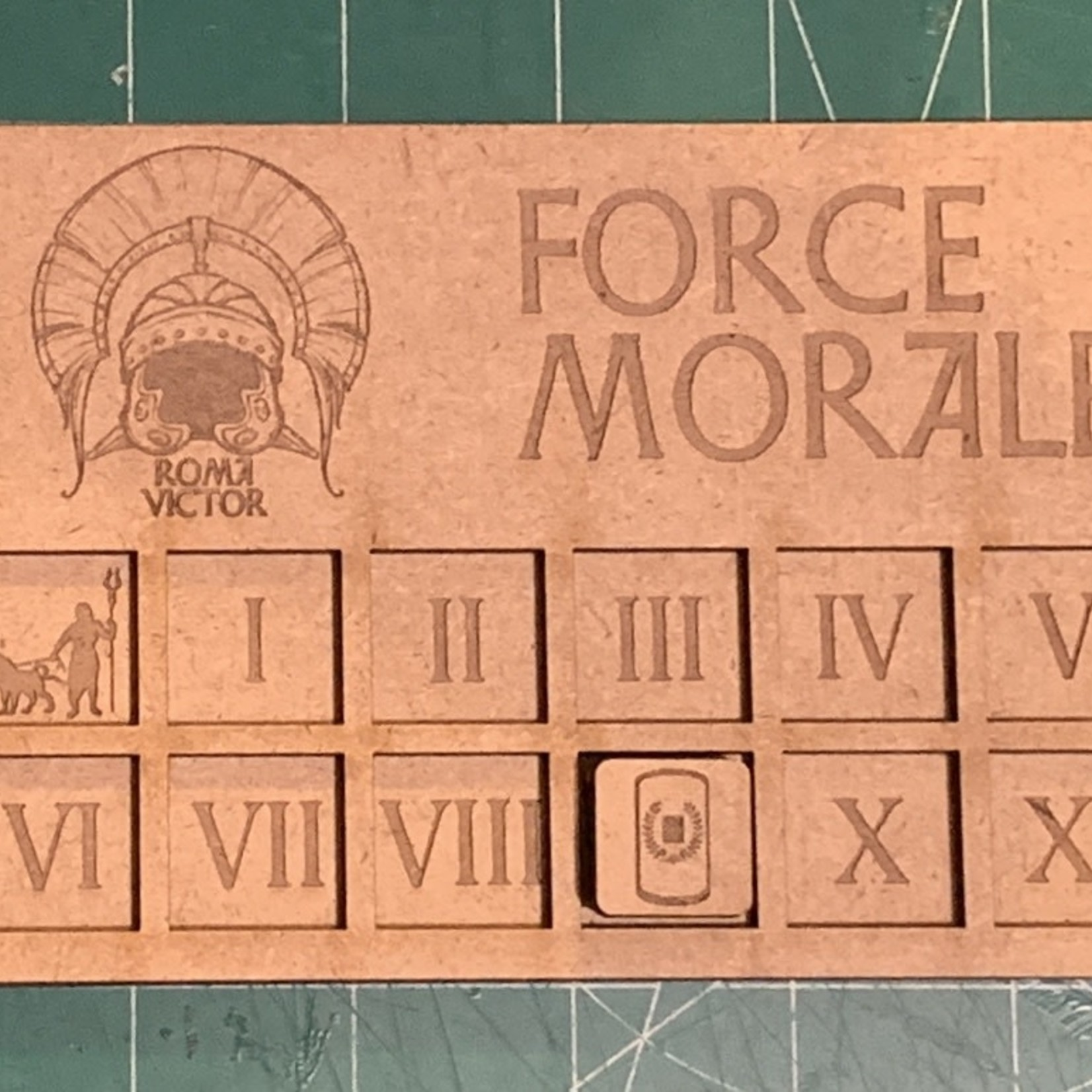 Infamy, Infamy- Roman Force Morale Tracker