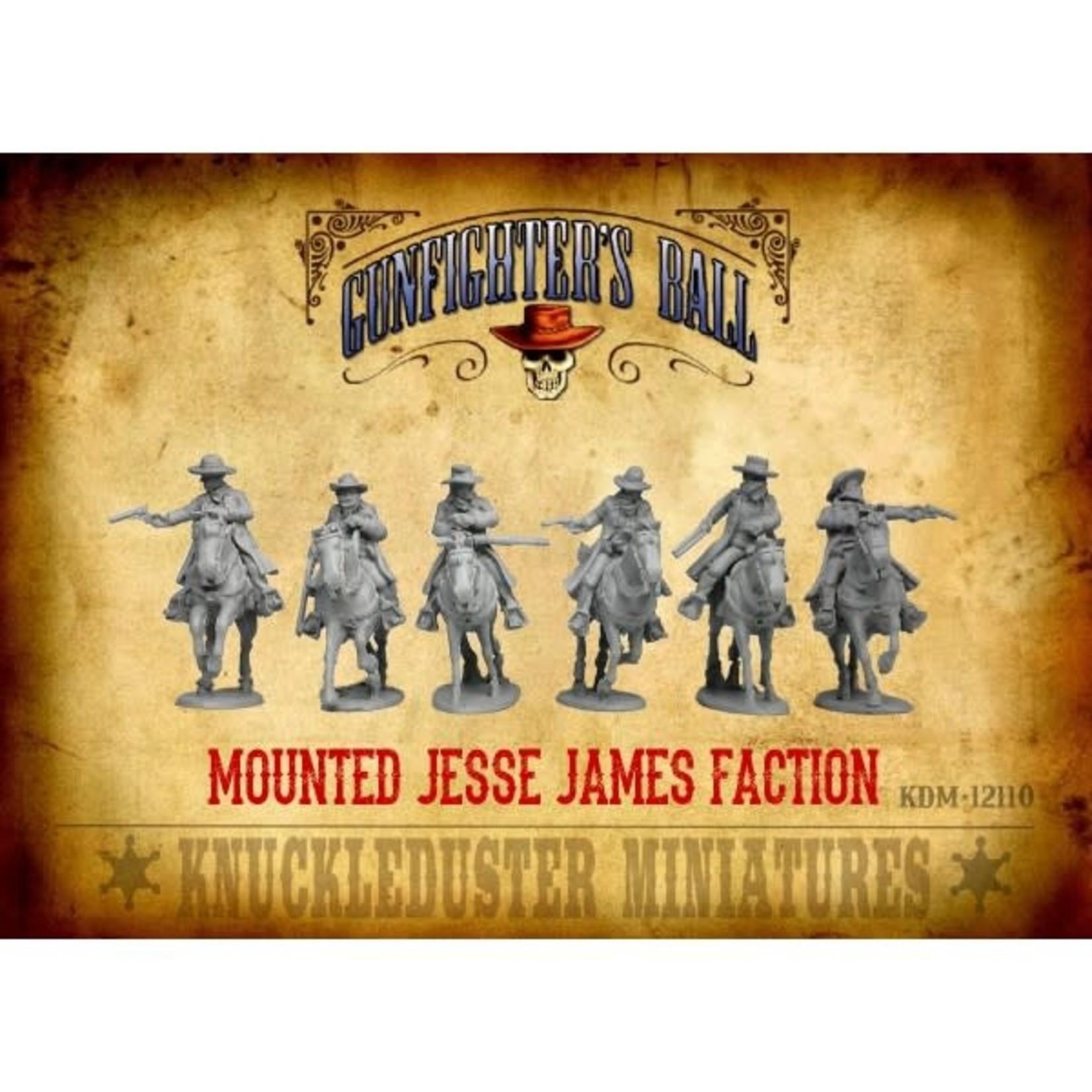 Jesse James Faction Mounted