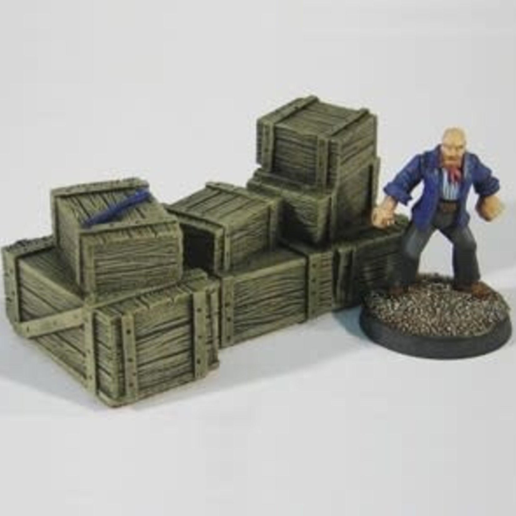 Large Crate Stack B