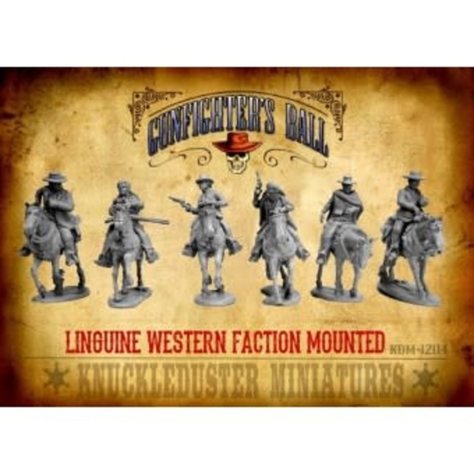 Linguine Western Faction Mounted