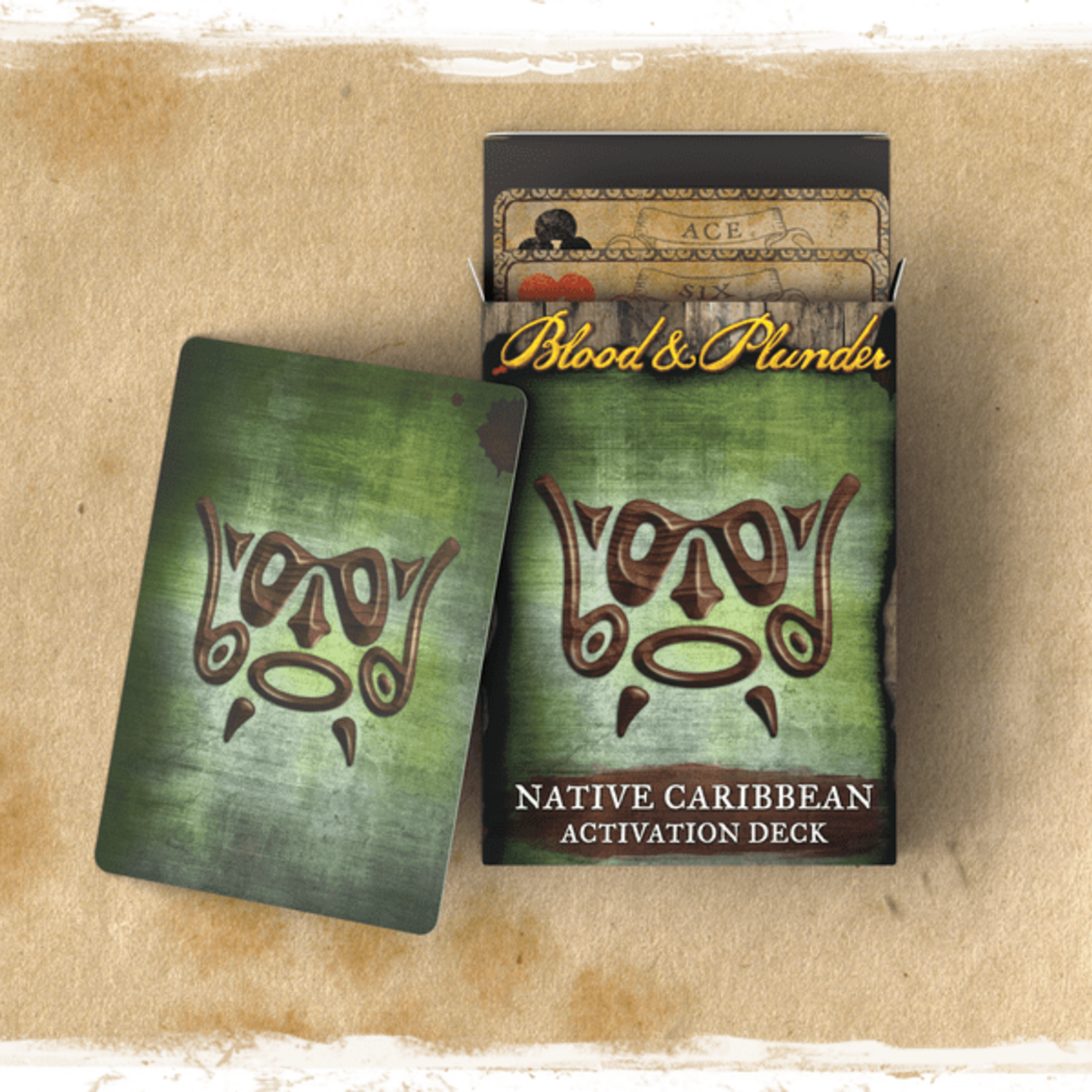 Native Caribbean Activation Card Deck