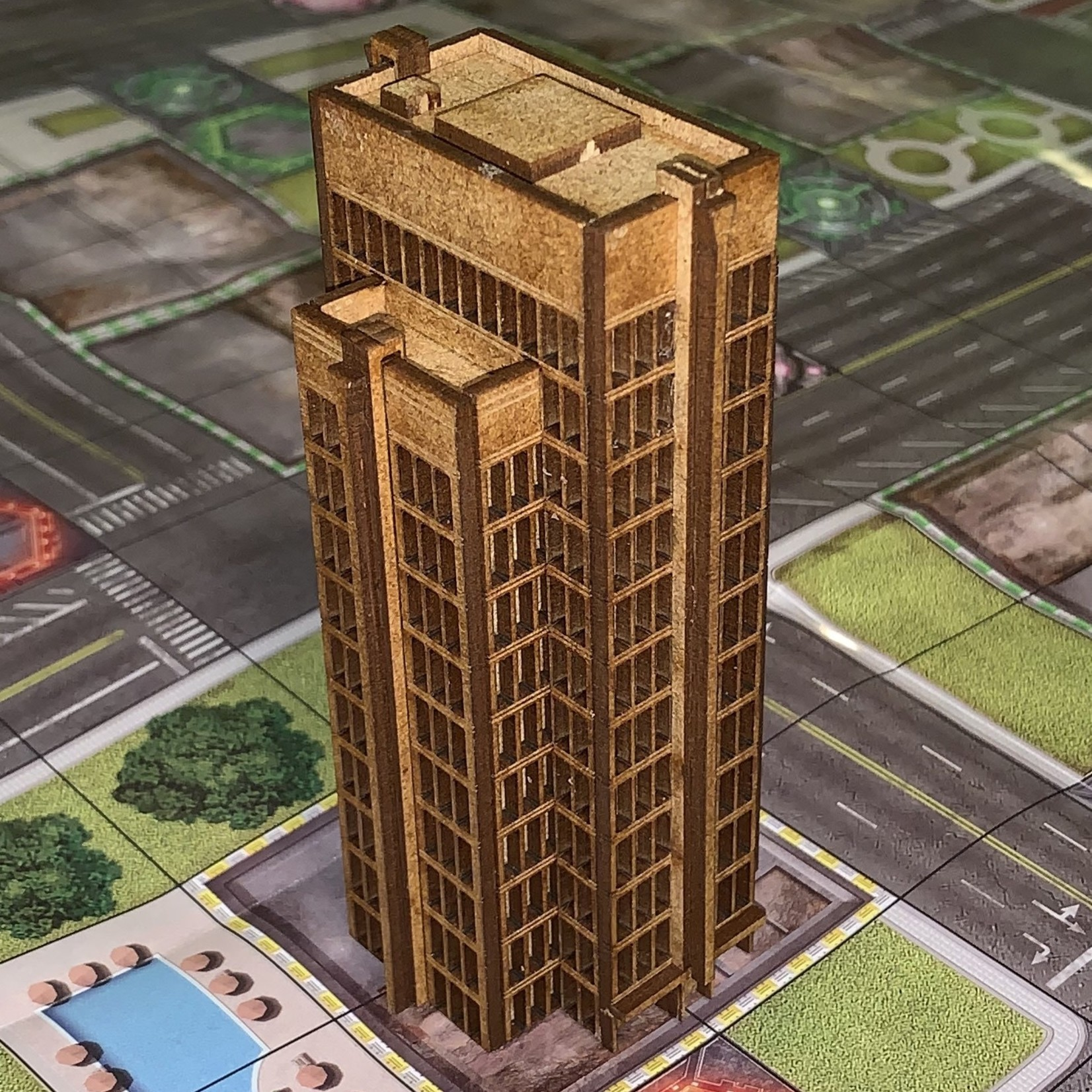 "Neo Tyrannis Mini ""Monsterpocalypse"" SkyScraper 1 Building"