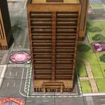 "Neo Tyrannis Mini ""Monsterpocalypse"" Starter Buildings"