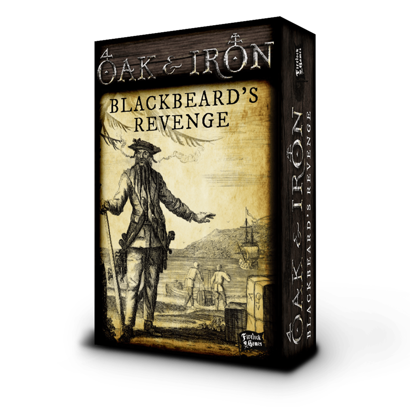 OAK & IRON BLACKBEARD'S REVENGE